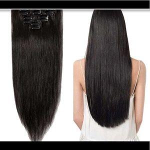 Hair clip ins 16pc